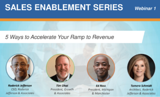 5 Ways to Accelerate Your Ramp to Revenue